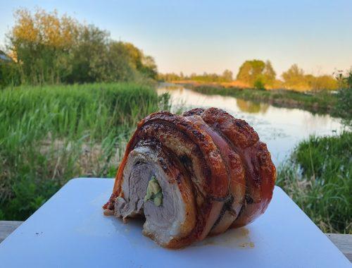 Poitrine de porc façon Lechon Belly