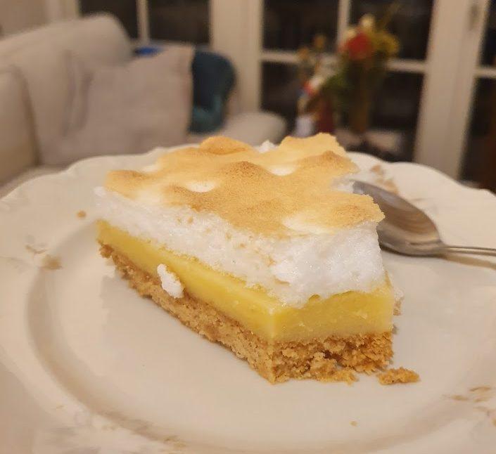 Keto Tarte au citron meringuée