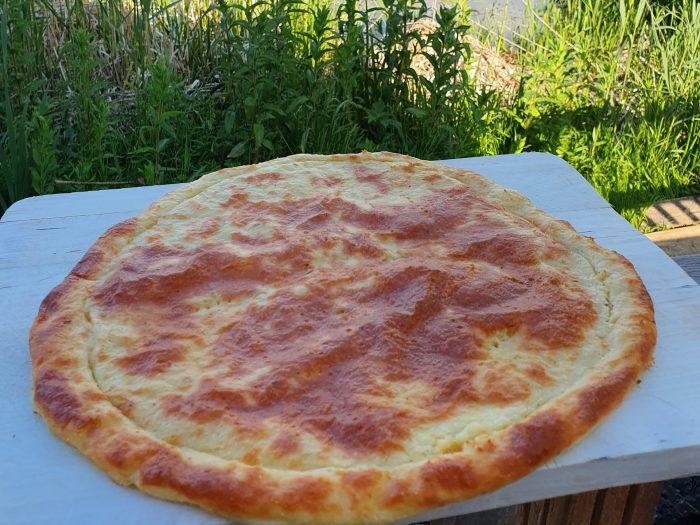 Keto Pizza | Triple Cheese