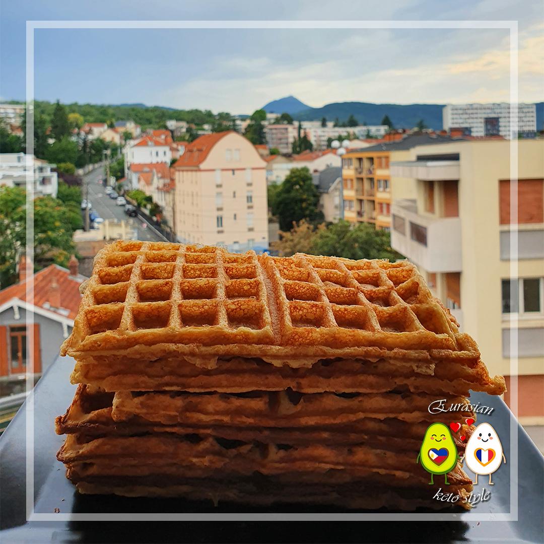 Keto Almond based waffles