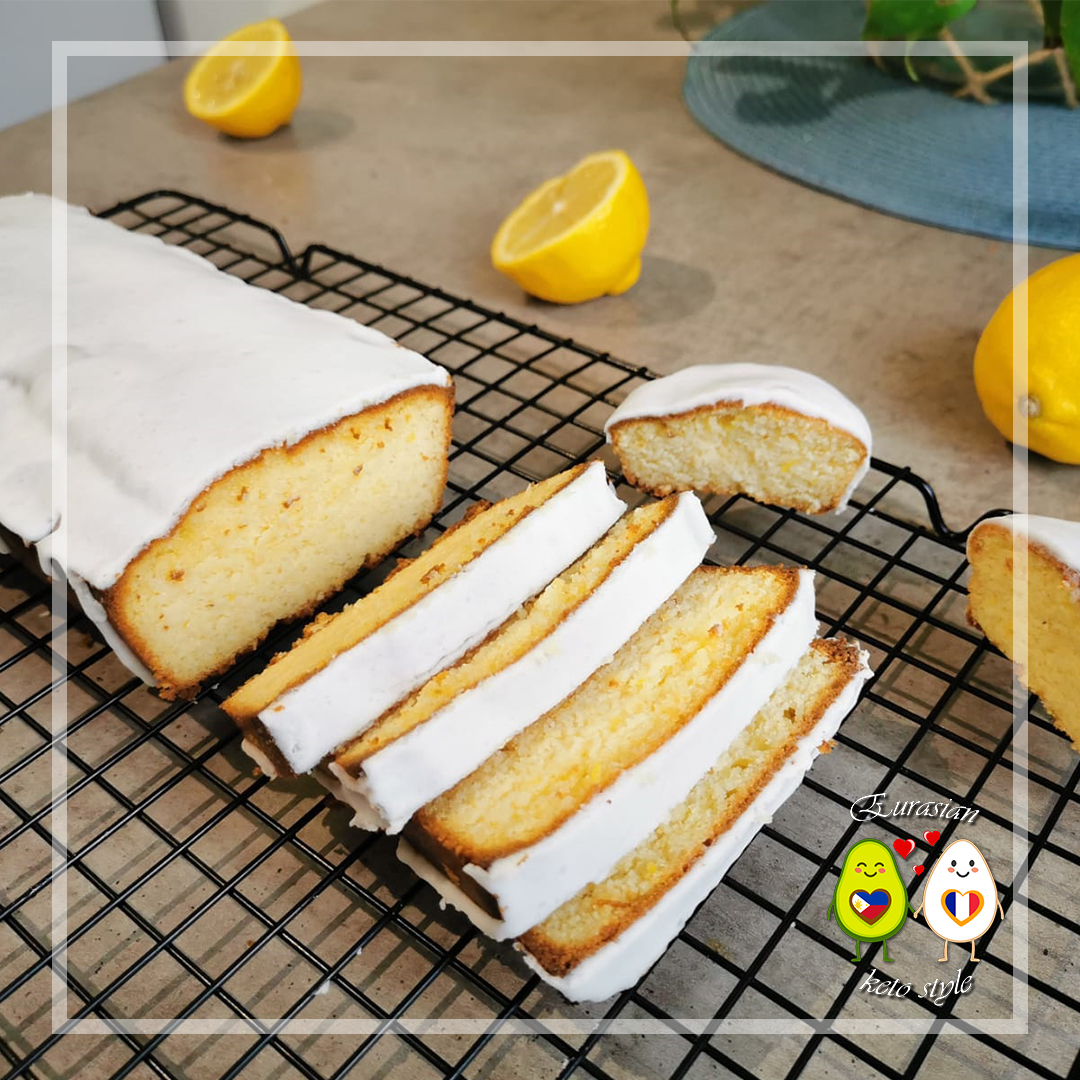 Keto Gâteau quatre-quarts au citron