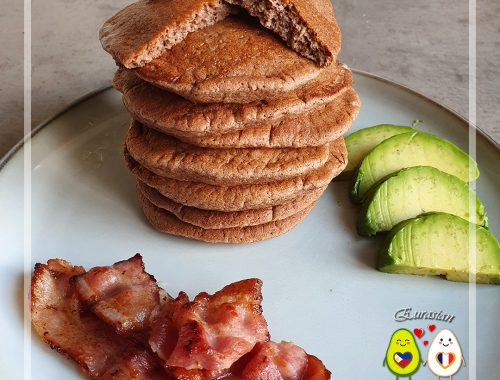 Keto Pancakes au chocolat