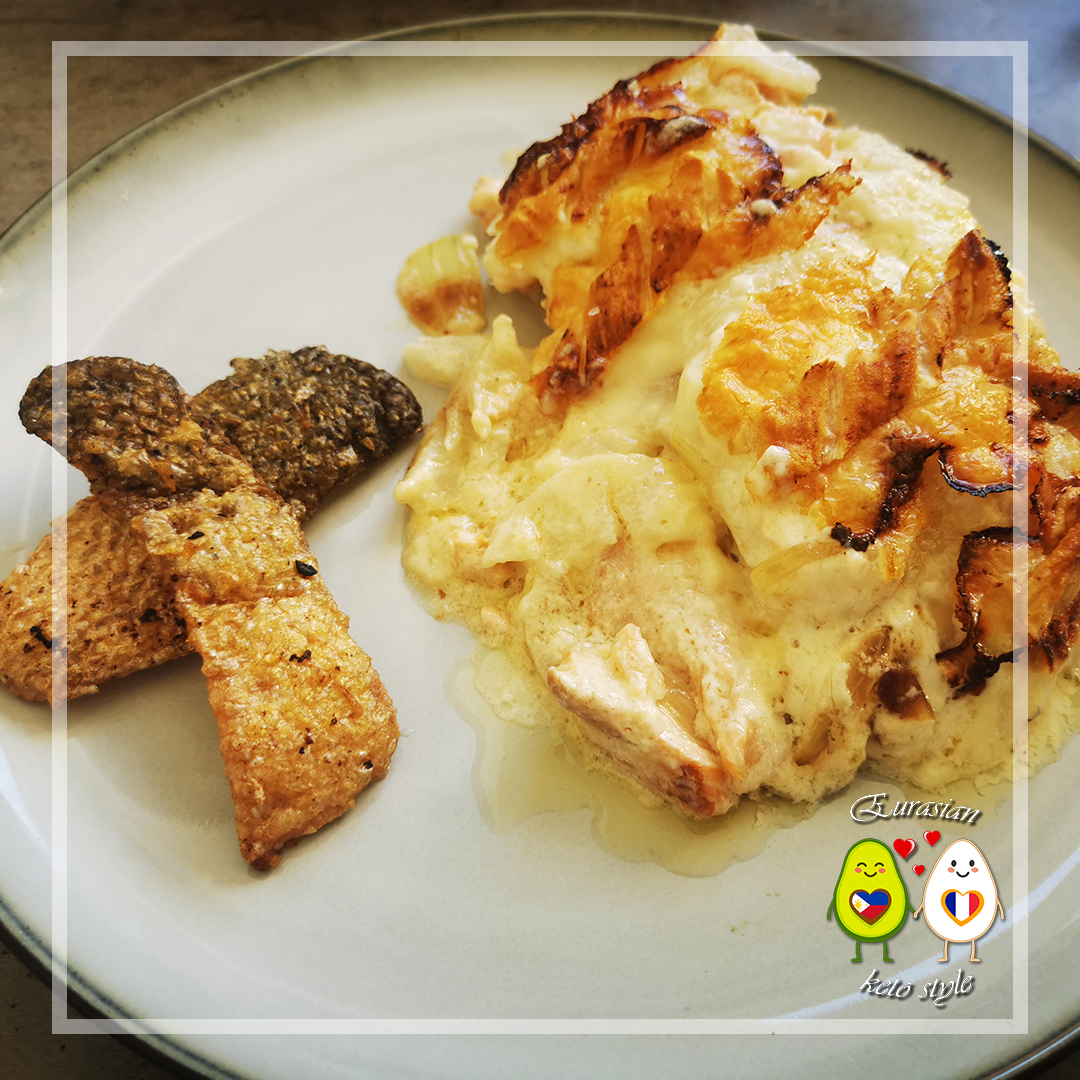 Keto Tartiflette aux 2 saumons | céto